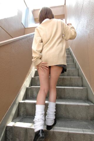 美脚女子高生