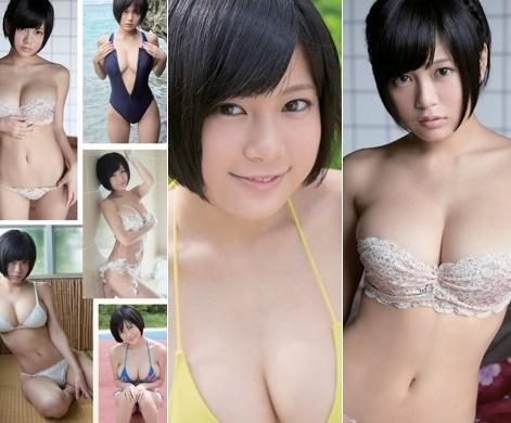 RaMu 画像100枚|下着・水着・ヌードなミニマムメガ乳Gカップ・グラビアまとめエロ画像